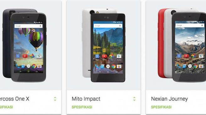 Android 5.1-smartphones