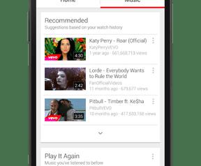YouTube Music dienst