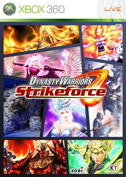 Packshot voor Dynasty Warriors: Strikeforce