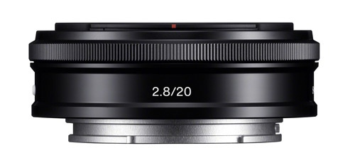 Sony E 20mm f/2,8 pan
