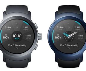 LG Watch Sport en Style