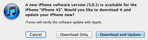 iOS 5.0.1.