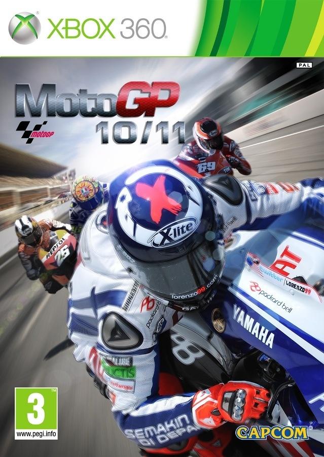 Packshot voor MotoGP 10/11