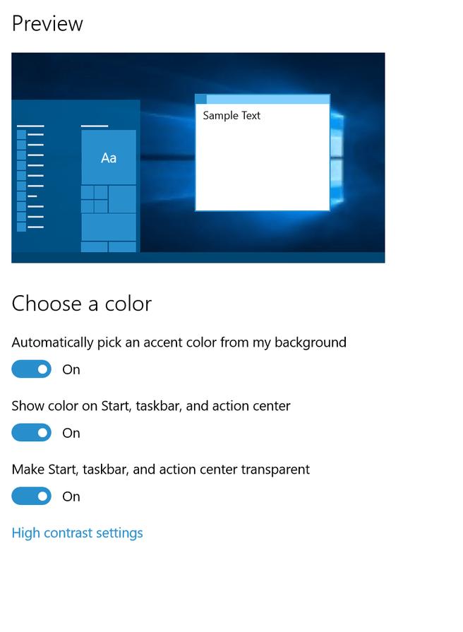 windows kleuren kiezen