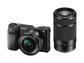 Goedkoopste Sony A6000 + 16-50mm f/3.5-5.6 + 55-210mm f/4.5-6.3 Zwart