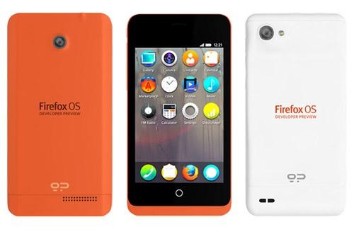 GeeksPhone Firefox OS-ontwikkelaarstelefoons (Peek en Keon)