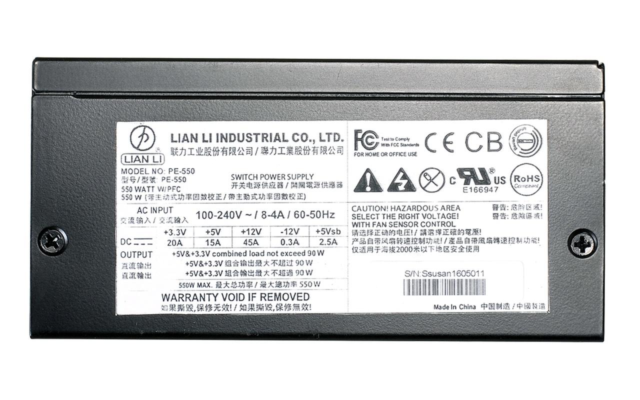Lian Li PE-550 & PE-750