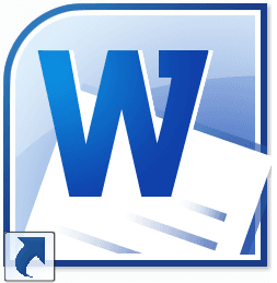 Office 2010 Word logo