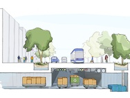 Conceptschetsen van Sidewalk Toronto