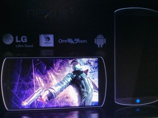 Geruchtenplaatje LG Nexus 5