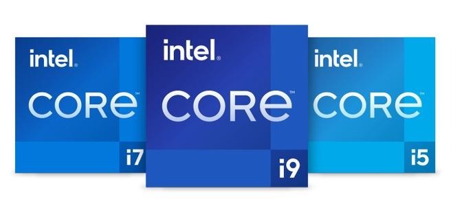 Intel Rocket Lake Core i5 i7 i9 badges
