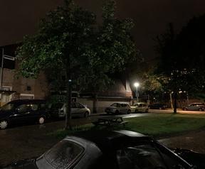 Smartphonecameratest matige lichtomstandigheden nachtmodus iPhone XS