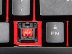 De Cherry MX schakkelaar op het toetsenbord