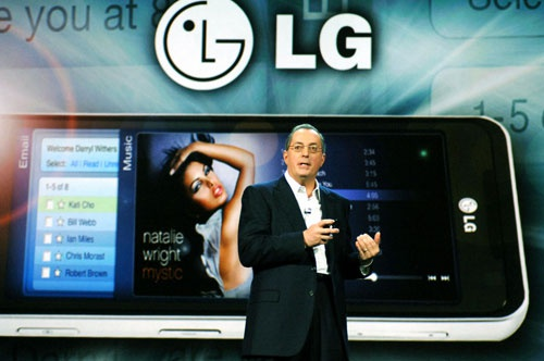 Intel kondigt LG GW990 aan