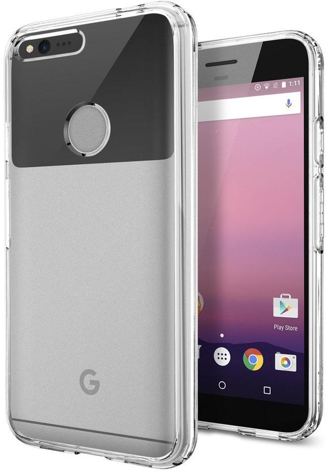 Spigen Ultra Hybrid Google Pixel XL Case Transparant