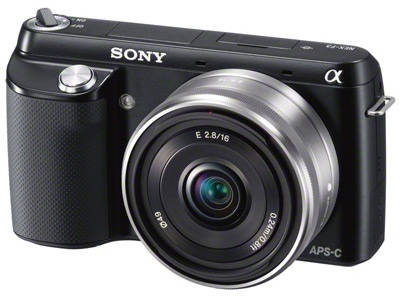 Sony NEX-F3 top