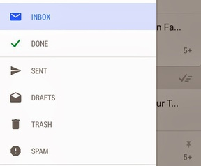 Gmail Android experimenteel 04-2014