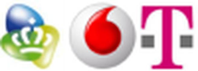 KPN, Vodafone en T-Mobile
