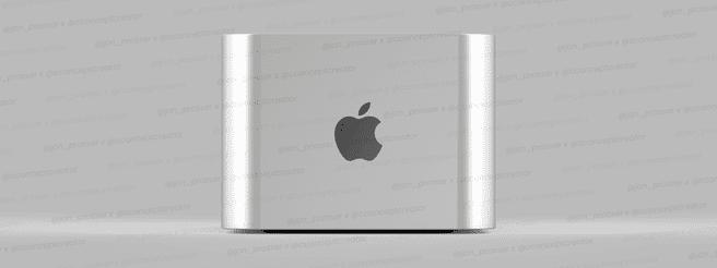 Mac Pro Mini 2021-concept via Jon Prosser, Front Page Tech