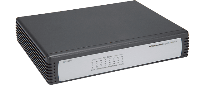 HP NETWORKING V1405-16G DESKTOP SWITCH JD844A#ABB