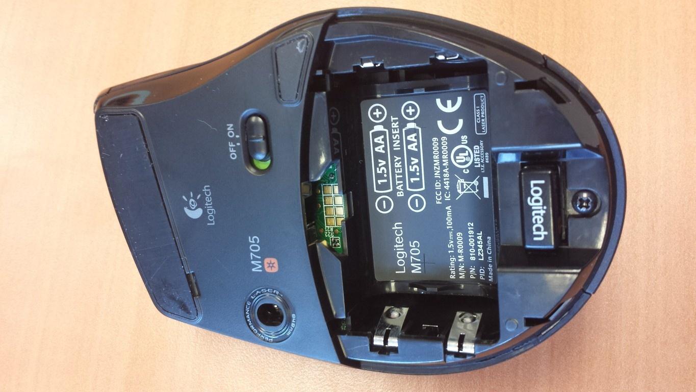 batterijvak m705