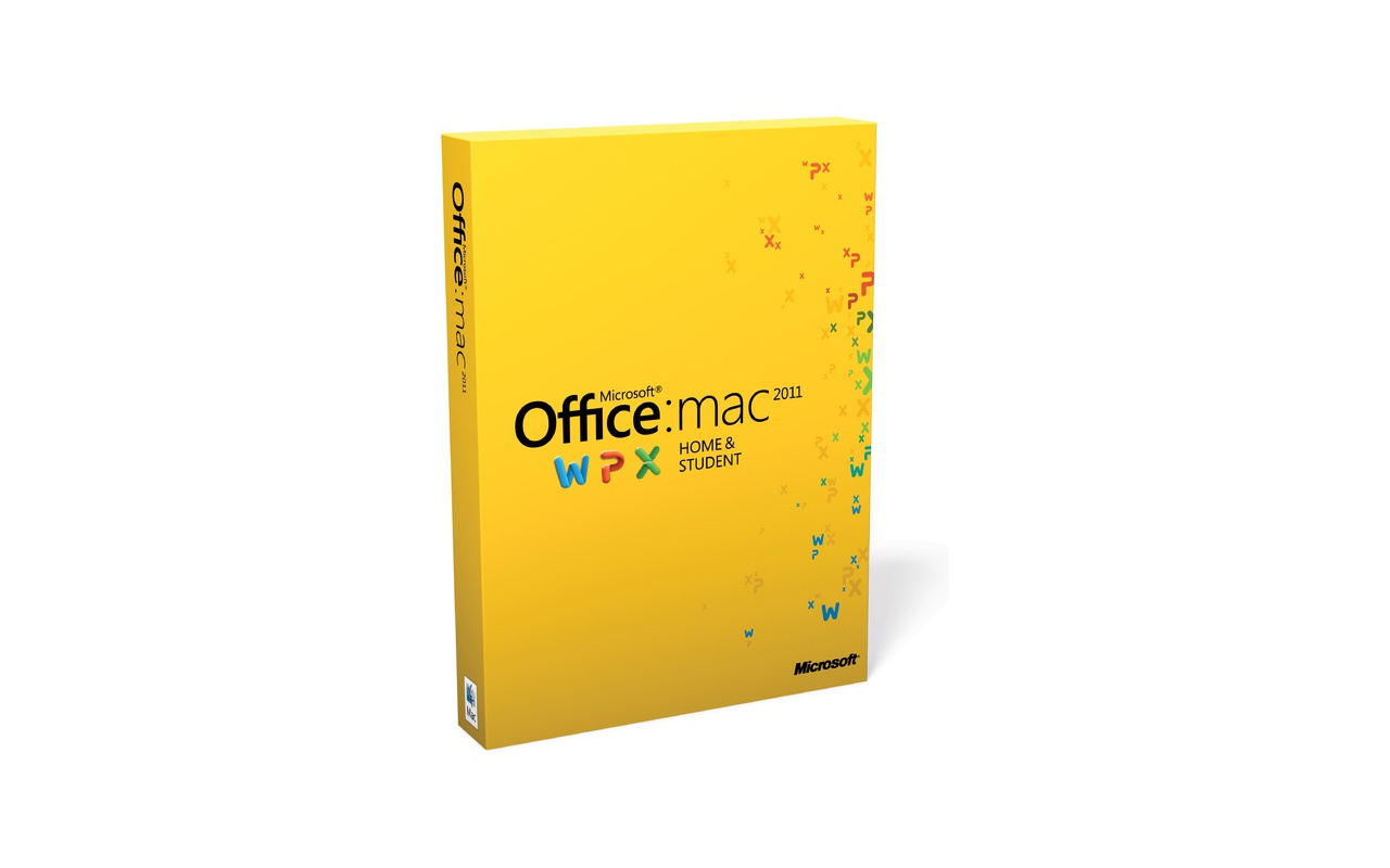 Microsoft Office voor Mac 2011 Home and Student