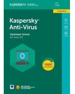 Kaspersky Lab Anti-Virus 2018 (Duits) Upgrade