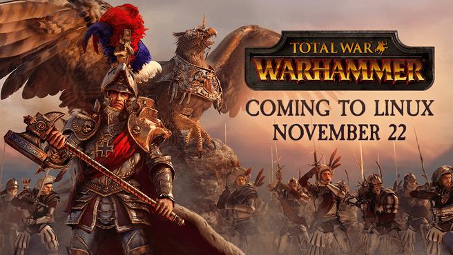 Total War Warhammer Linux aankondiging