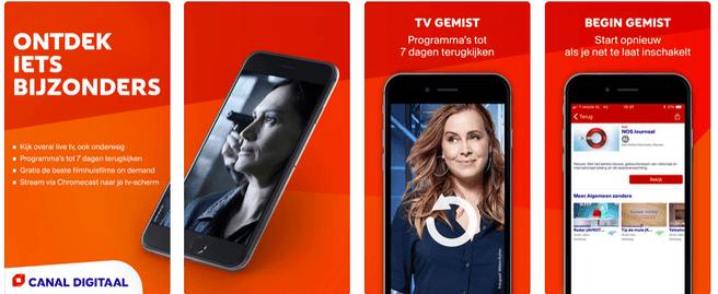 App van Canal Digitaal
