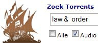 The Pirate Bay, law & order