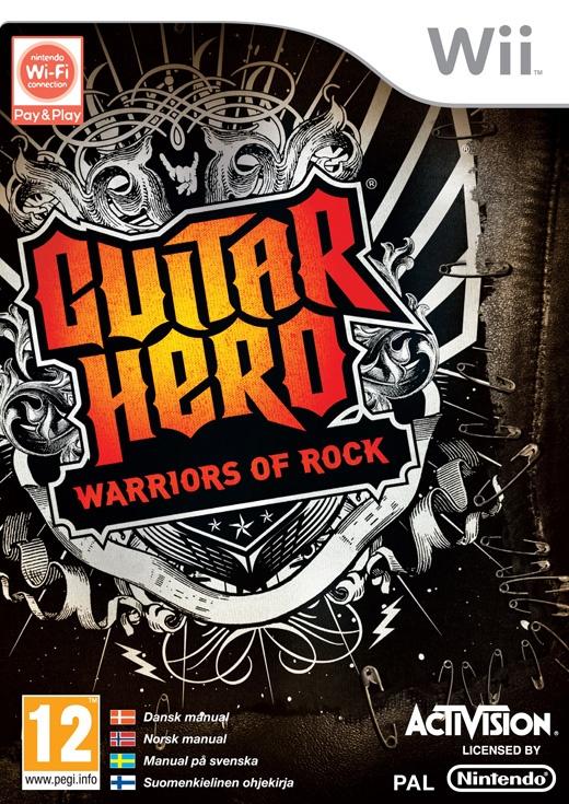 Guitar Hero: Warriors of Rock, Wii