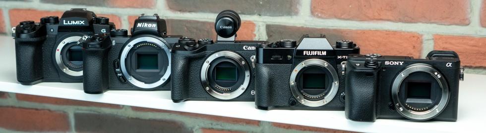 De vijf camera's