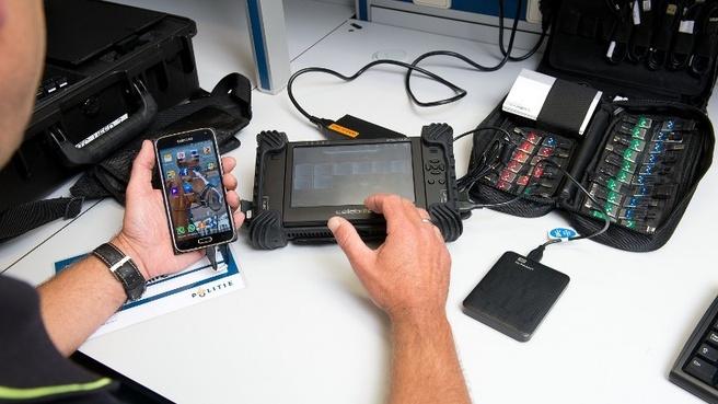 Politie: digitaal onderzoek