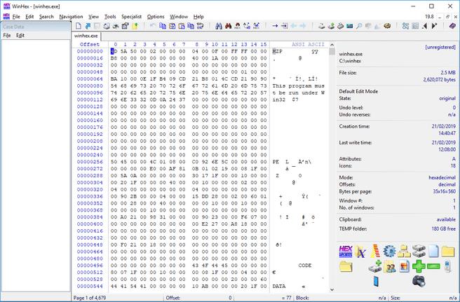 WinHex 19.8