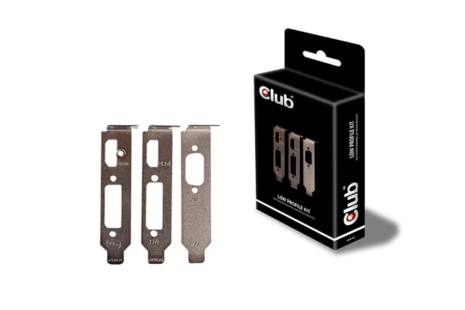 Club3D Club 3D Low Profile Bracket Kit
