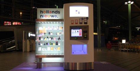 Automaat mobieltjes op Schiphol van Vodafone-HollandsNieuwe