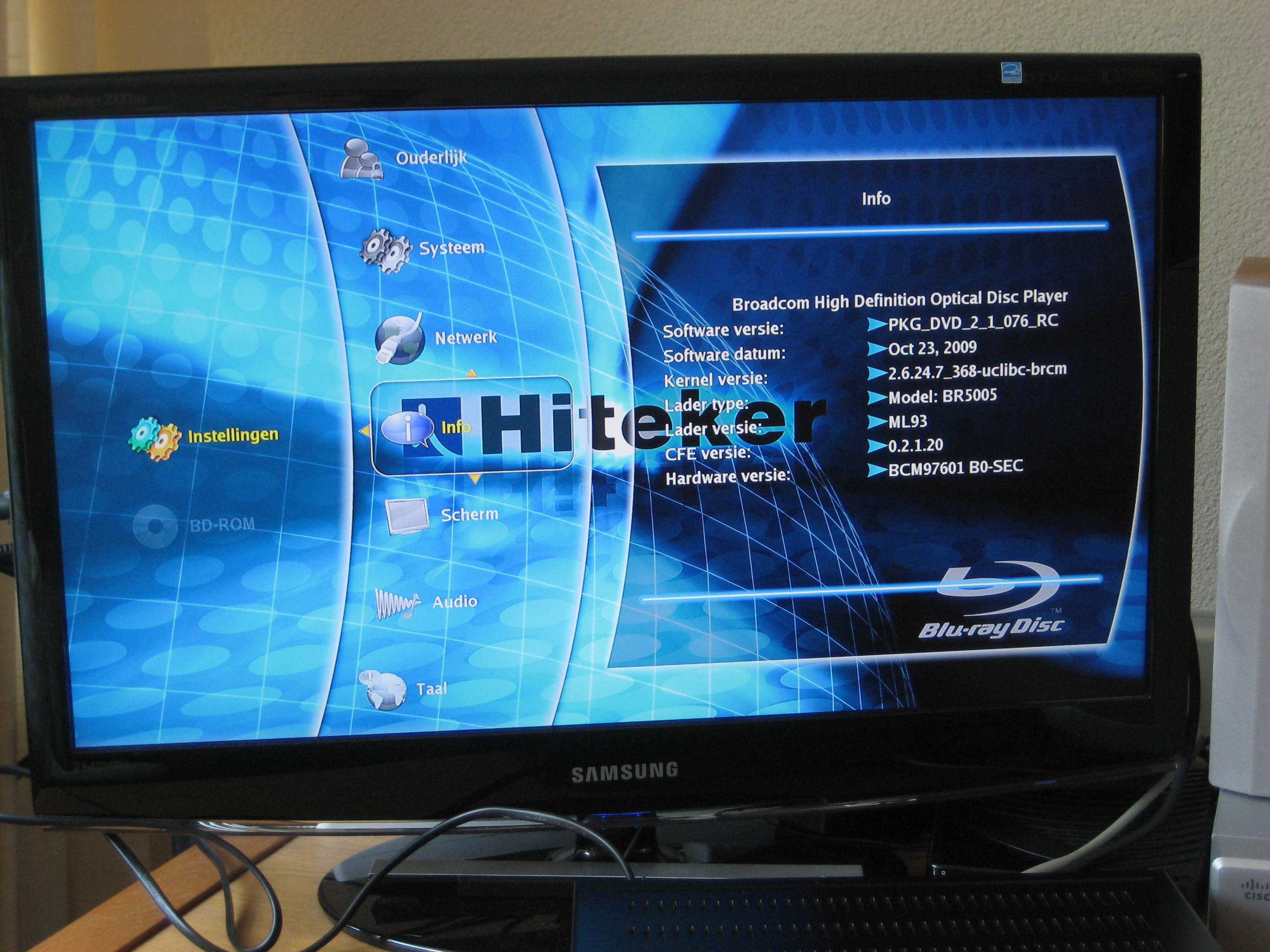 Blu ray spelare fat32