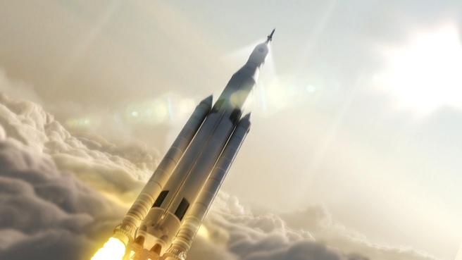 NASA SLS render