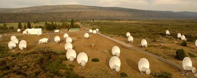 Allen Telescope Array van Seti