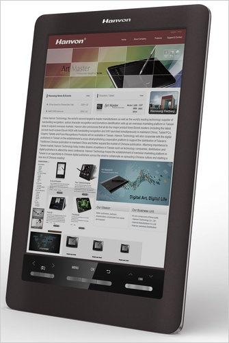 Hanvon e-reader met kleurenscherm
