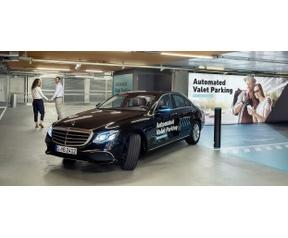 Mercedes parkeren