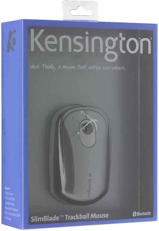 kensington slimblade trackball mouse manual