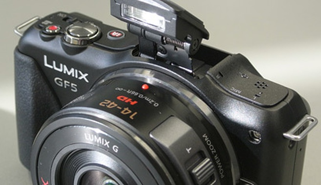 Panasonic Lumix GF5 handson fpa groot