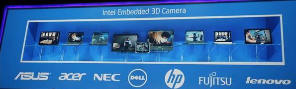 Intel embedded 3d-camera
