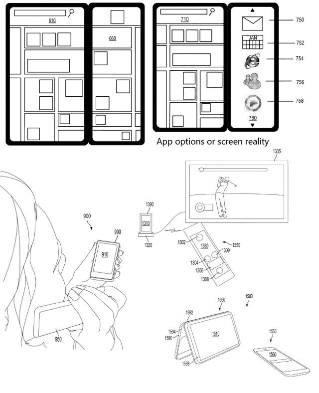 Microsoft patent voor dualscreen