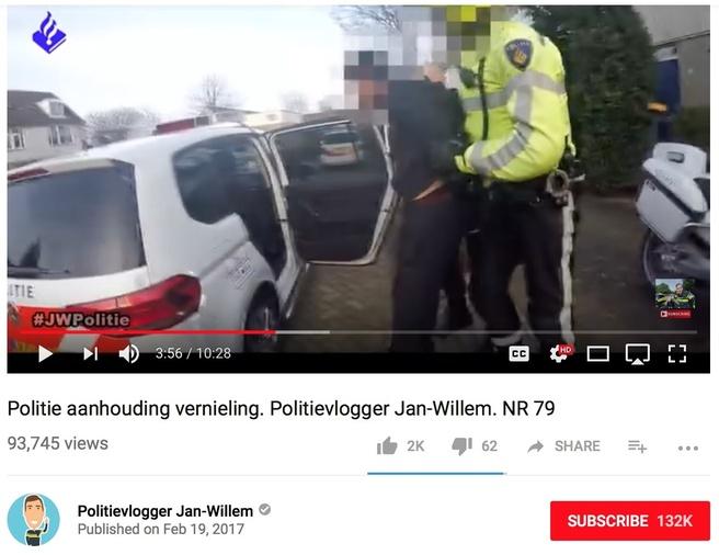 Politievlogger