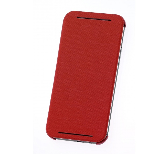 HTC One (M8) HC V941 Flip Case Rood