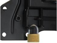 DQ Wall-Support Hercules Fixed 800 Black TV Beugel