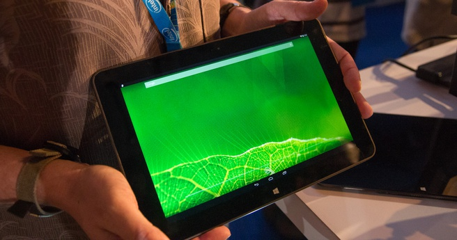 Android-tablet met Core M