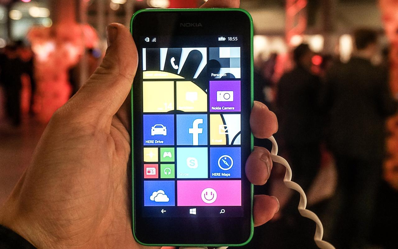 Nokia Lumia 630 Preview